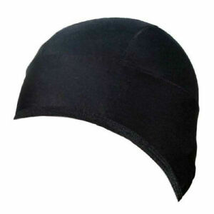 Zimco Cycling Roubaix Thermal Skull Cap Head Warmer Beanie Skull Cap Black