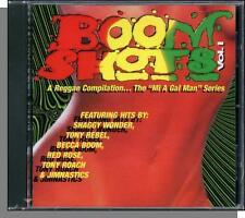 "Boom Shots - Great Reggae V/A Compilation CD - New! 1996 ""Mi a Gal Man"" Series!"