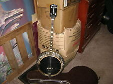 Harmony Roy Smeck 4 String Tenor Banjo with Rare backing