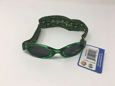 Real Kids Shades Boys Sunglasses Green Frog Size 2-5 Years UV Protection NEW
