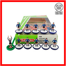 More details for inter / atalanta subbuteo team ref 058 vintage table football soccer toy lw u6