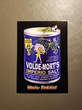 Volde-Mort's Salt Red Ludlow 02/25 2018 Topps Wacky Packages Go to the Movies