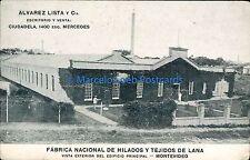 URUGUAY FABRICA NACIONAL DE HILADOS Y TEJIDOS DE LANA VISTA EXTERIOR