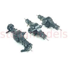 All Metal 6x6 Axle Set (3pcs) with diff lock - 1/14 Tractor Trucks Q-9112
