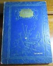 #1 - Vintage 1931 Tilden Tech Hs Yearbook - Chicago - Good Condition