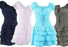 Bandeau Short Sleeve Boho, Hippie Dresses for Women