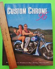HARLEY-DAVIDSON PARTS & ACCESSORIES BOOK Hardcover 1996 CUSTOM CHROME 848-pgs