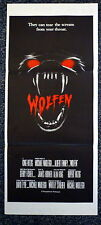 WOLFEN Original 1980s Aussie Daybill Horror Movie Poster Rare Different Artwork