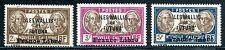 WALLIS et FUTUNA 1941 Yv 120-122 ** POSTFRISCH (E7946