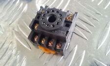 11 pins Relais Sockel für Schienenmontage passend für ETJQX-10F-3Z,  ETPF113A