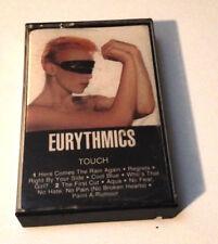 EURYTHMICS - Touch - Cassette Tape - EX (Annie Lennox, Dave Stewart)