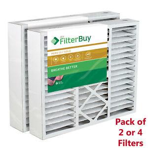 FilterBuy 20x25x5, AC Air Filters Honeywell FC100A1037 Compatible, MERV 11