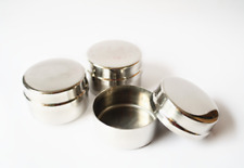 1pc Dental Stainless steel box Holder Case for Medical Cotton Ball Gauze Tampon