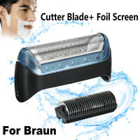 Shaver/Razor Foil & Cutter Blade Replacement For BRAUN 10B/20B/20S ! @ *) ,@