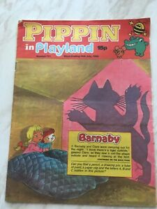 Vintage Comic PIPPIN in PLAYLAND No. 721 18th July 1980