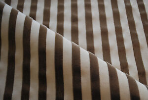 """Soft furnishing/upholstery fabric """"Lucetta"""" by ROMO, arabica, remnant of 1.8m"""