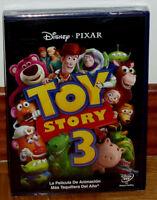 TOY STORY 3 DISNEY DVD EDICION ESPECIAL NUEVO PRECINTADO ANIMACIÓN (SIN ABRIR)