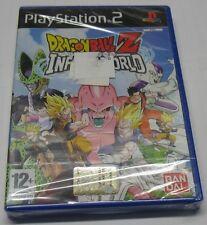 DRAGON BALL Z INFINITE WORLD SONY PS2 PLAYSTATION 2 ITALIANO PAL SIGILLATO NEW