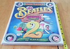 Les Beatles Chansons Illustrées Livre-Show 2 136 Pages 1971 France Alan Aldridge