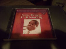 LOUIS ARMSTRONG CD SATCHMO-THE ESSENTIAL BRAND NEW SEALED