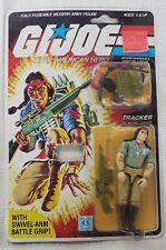 Vintage 1983 GI Joe Tracker Code Name Spirit New Never Removed From Card