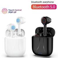 Bluetooth 5.0 Wireless Headphones TWS Earphones Mini In-Ear Pods Bass Earbuds UK