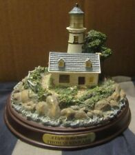 "New Thomas Kinkade Seaside Memories ""A Light In The Storm"" Lighted Lighthouse"