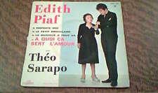 45 tours edith piaf a quoi ca sert l'amour avec theo sarapo
