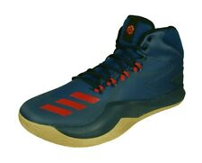adidas D Rose Dominate IV Mens Basketball Trainers Mid-Top Court Shoes Blue