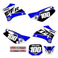 Yamaha TTR 125 Graphics Kit Fits 2000 - 2007  TTR125 ST - 1
