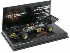 Minichamps 1:43 LOTUS FORD 72  EMERSON FITTIPALDI  WORLD CHAMPION 1972 NEW