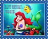 Ariel The Little Mermaid (1) - Edible Birthday Cake Topper OR Cupcake Topper
