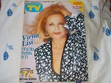 TV SORRISI E CANZONI # maggio 1988 virna lisi