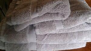 John Lewis Egyptian Cotton 2 x Bath Towels 2 x Hand Towels Linen £48