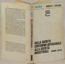 GIANNI LOSITO DALLA SOCIETA CONTADINO ARTIGIANALE INDUSTRIALE CAPITALISMO 1984