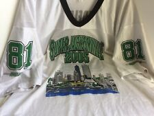 Jersey 39 Terrell Owens 81 Eagles Super Bowl '05 Commemorative Jacksonville 2XL