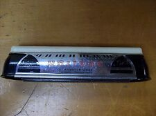 1940's Art Deco Harmonica Unitone Chromatic All American Series Bakelite Chrome