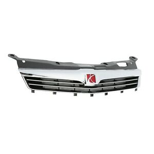 OEM GM 2008 Saturn Astra Chrome Front Radiator Grille With Logo 94701143