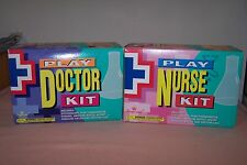 Imperial Play Doctor Kit & Play Nurse Kit HTF Rare 1996 Mint in Box Collectible!