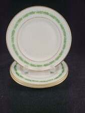 """FRANCISCAN FINE CHINA ARCADIA GREEN MADE IN USA  3 BREAD & BUTTER PLATE 6 1/4"""""""