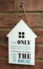 The Only Reason I Have A Kitchen Wooden Sign Kitchen Shabby Chic Wood House New