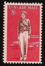 Amelia Earhart Aviatrix Aviation Pioneer Lockheed Electra Airplane US Stamp MINT