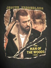 "2018-19 Justin Timberlake ""The Man of the Woods"" Concert Tour (Sm) T-Shirt"