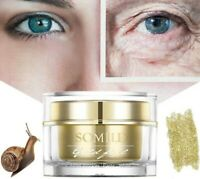 24K Gold Snail Essence Cream Whitening Anti Wrinkle Aging Hydrating Moisturize
