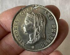Antique 1897 Queen Victoria Royalty Diamond Jubilee Medallion Huddersfield