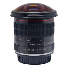 Meike 8mm f/3.5 Wide Angle Fisheye Lens for Canon DSLR Cameras 6D 70D 80D 550D