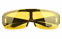 Polarized Fit over wrap around Fishing Sunglasses Flip up eyeglasses Goggles CE