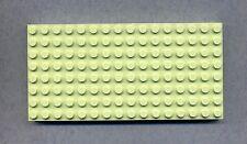 LEGO -- 4204 -- piastra di base --- bauplatte -- 8 x 16 -- Dick -- MINT/VERDE -- LT/Lime -