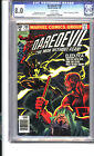Daredevil #168 CGC 8.0 1st appearance of Elektra (Elecktra misprint on book)