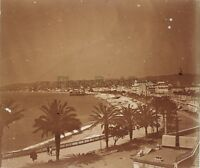 Nice Panorama Francia Placca P9 Stereo Vintage Positivo 6x13cm